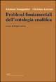 Problemi fondamentali dell'ontologia analitica