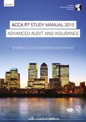 ACCA P7 Advanced Audit and Assurance (International) Study Manual