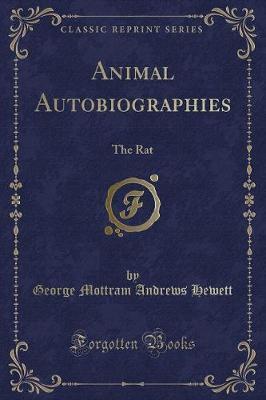 Animal Autobiographies