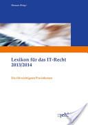 Lexikon für das IT-Recht 2013/2014