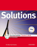 Solutions: Pre-intermediate: Student's Book with MultiROM Pack