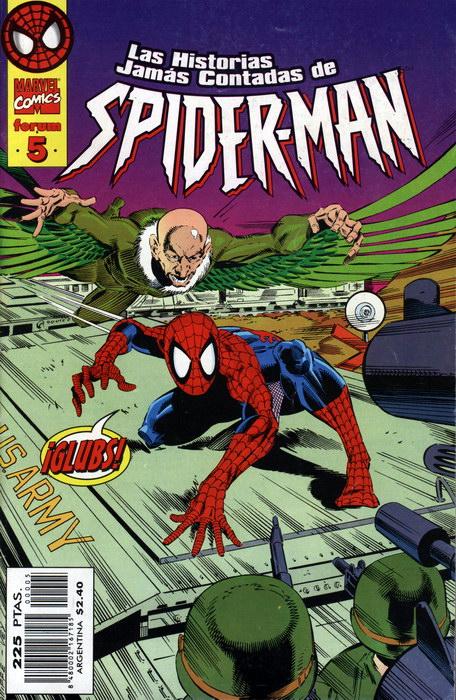 Las historias jamás contadas de Spider-Man #5 (de 26)