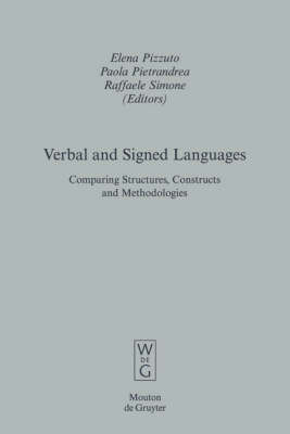 Verbal and Signed Languages