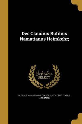 GER-DES CLAUDIUS RUTILIUS NAMA