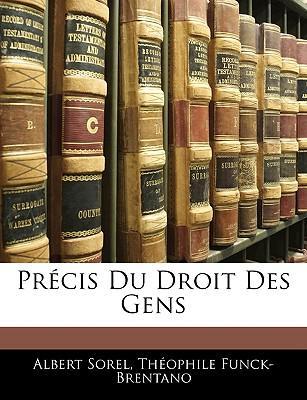 Prcis Du Droit Des Gens