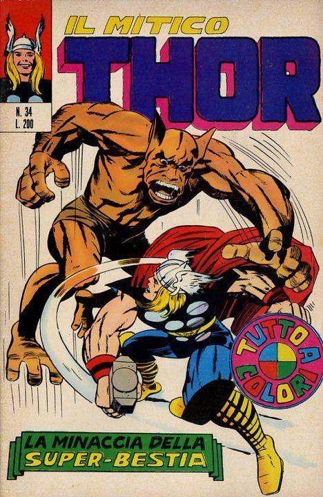 Il mitico Thor n. 34