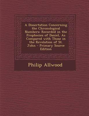 A Dissertation Concerning the Chronological Numbers
