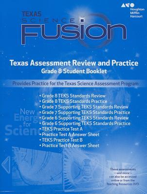 Science Fusion Texas Assessment Review and Practice Grade 8