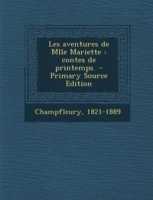 Les Aventures de Mlle Mariette