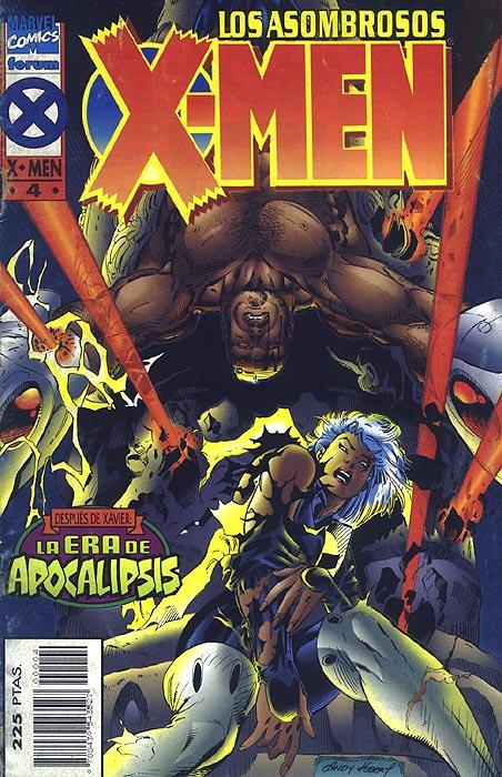 Los asombrosos X-Men Vol.1 #4 (de 4)