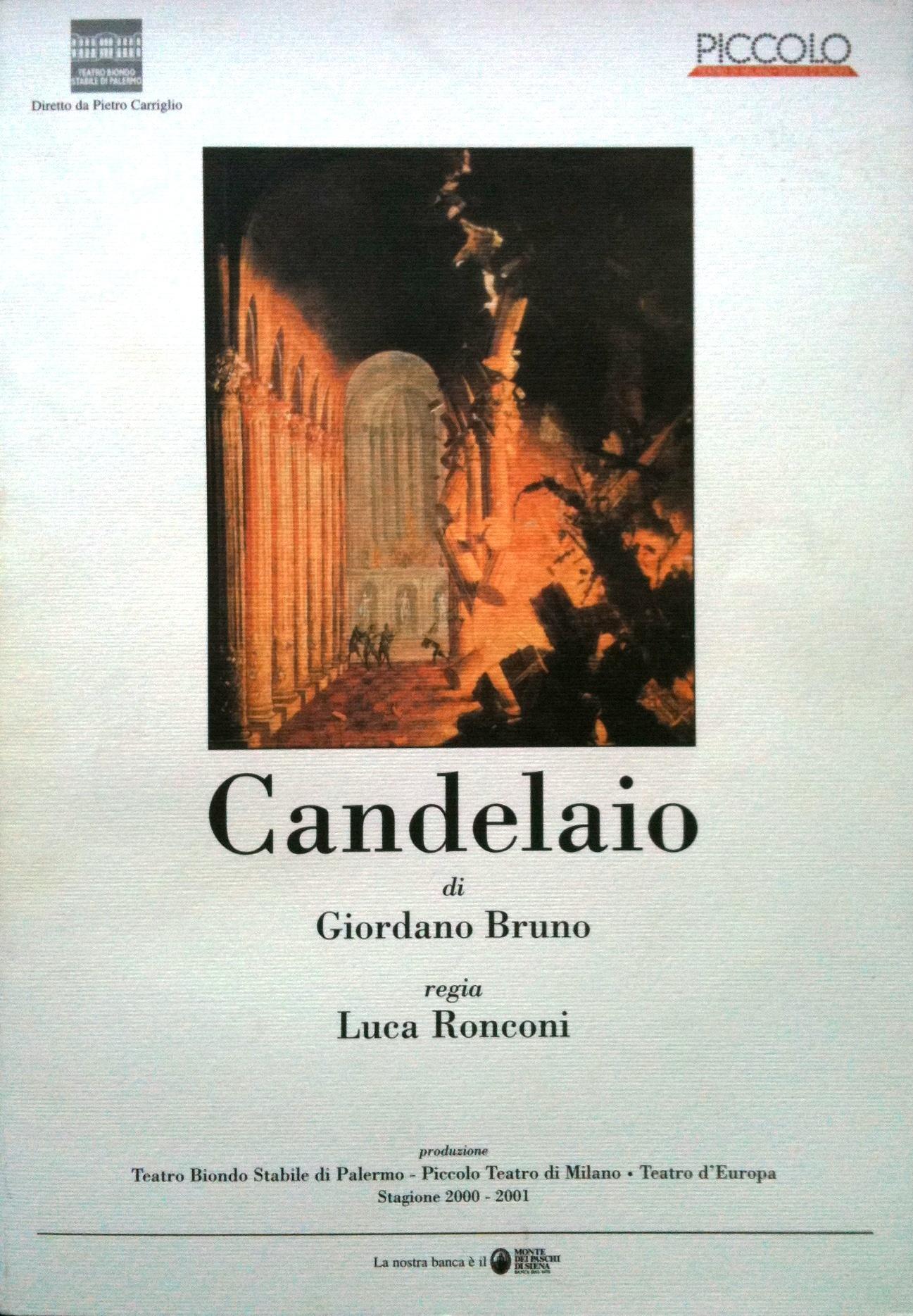 Candelaio di Giordano Bruno