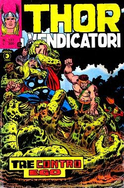 Thor e i Vendicatori (Il Mitico Thor) n. 137