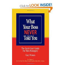 What Your Boss Never Told You
