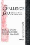 The Challenge of Japan Before World War II and After