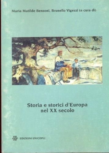 Storia e storici d'Europa nel XX secolo