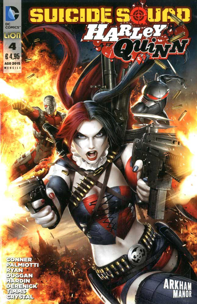 Suicide Squad / Harley Quinn n. 4