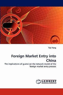 Foreign Market Entry into China