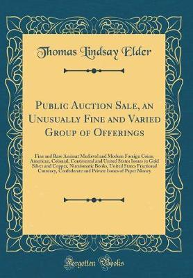 Public Auction Sale,...