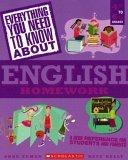 Everything You Need...english To Know About English Homework