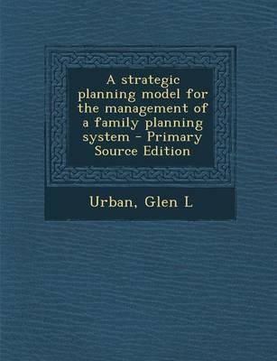 A Strategic Planning...