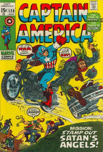 Captain America Vol.1 #128