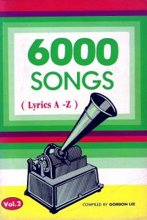 6000 Songs (Lyrics A-Z)