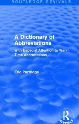 A Dictionary of Abbr...