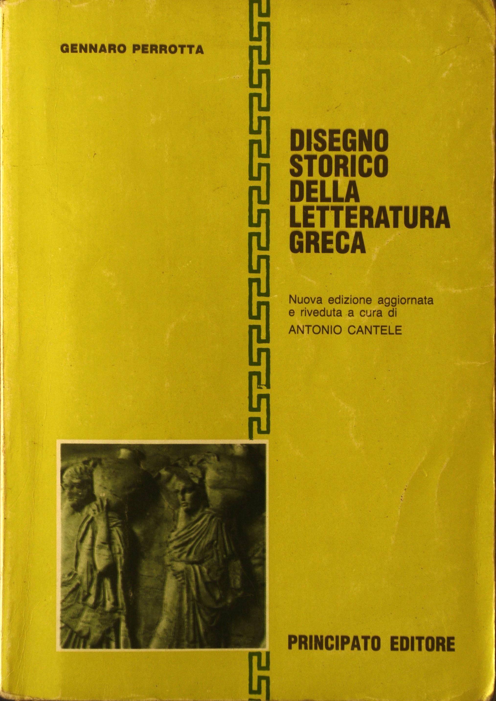 Disegno storico della letteratura greca