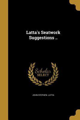 LATTAS SEATWORK SUGGESTIONS