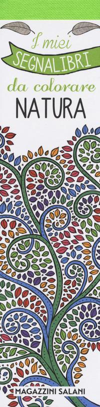 I miei segnalibri da colorare natura confezione 3 copie