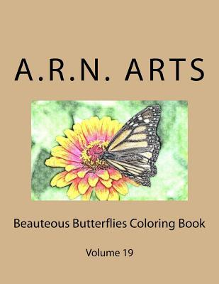 Beauteous Butterflies Coloring Book