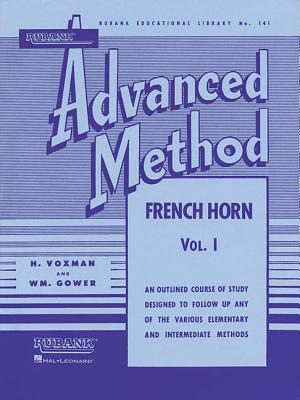 Rubank Advanced Method Vol. I Horn in F