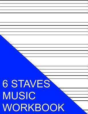 6 Staves Music Workb...