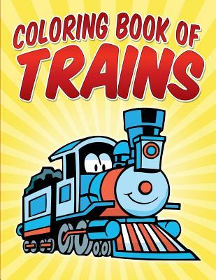 Coloring Book of Trains