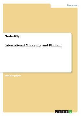 International Marketing and Planning