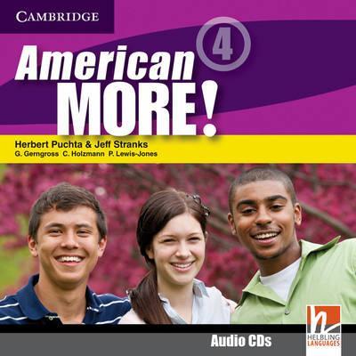 American More! Level 4 Class Audio CDs (2)