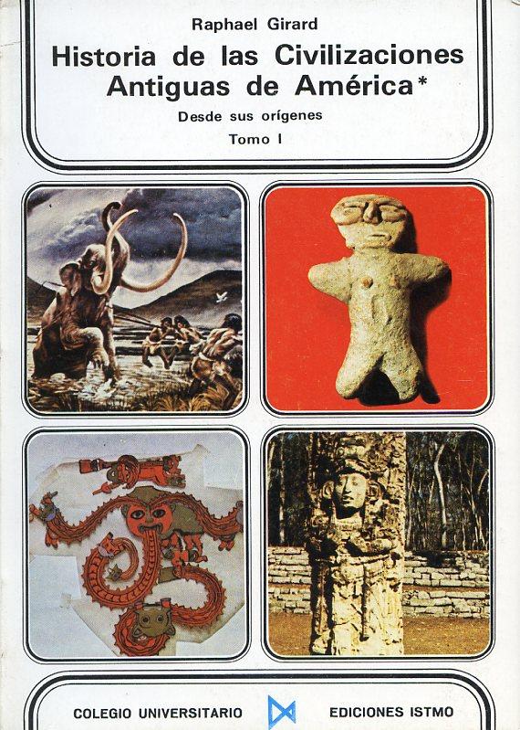 Historia de las civilizaciones antiguas de América desde sus orígenes, 3 vols