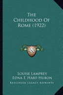 The Childhood of Rome (1922)