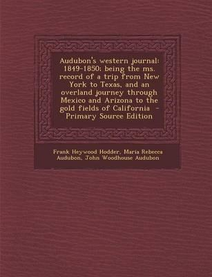 Audubon's Western Journal