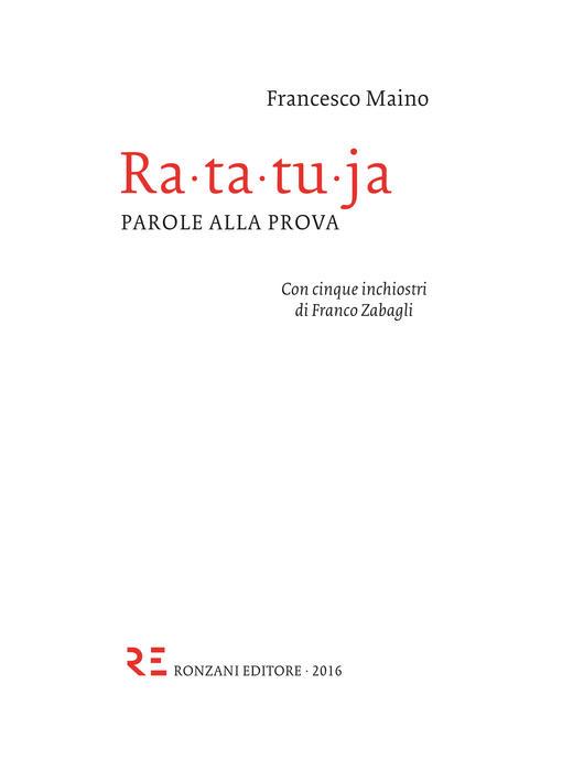 Ratatuja