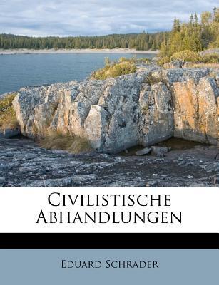 Civilistische Abhandlungen