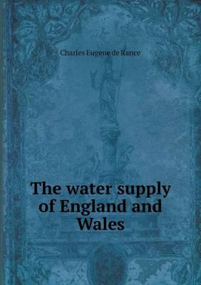 The Water Supply of England and Wales