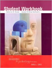 Student Workbook for Abnormal Psychology, Fifth Edition