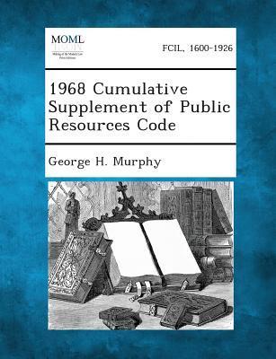 1968 Cumulative Supplement of Public Resources Code