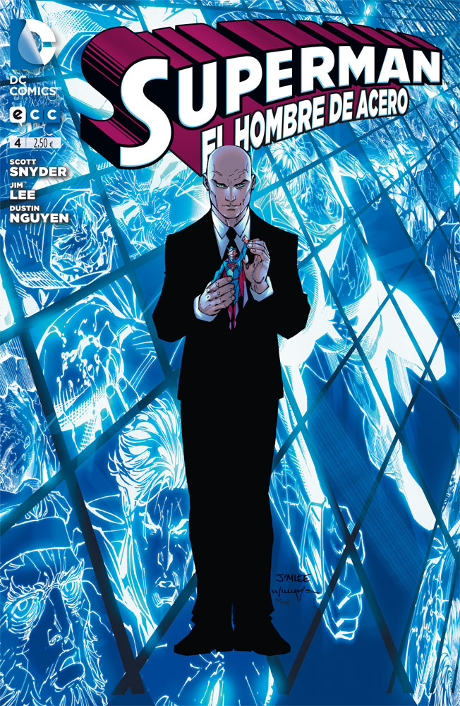 Superman, el hombre de acero #4