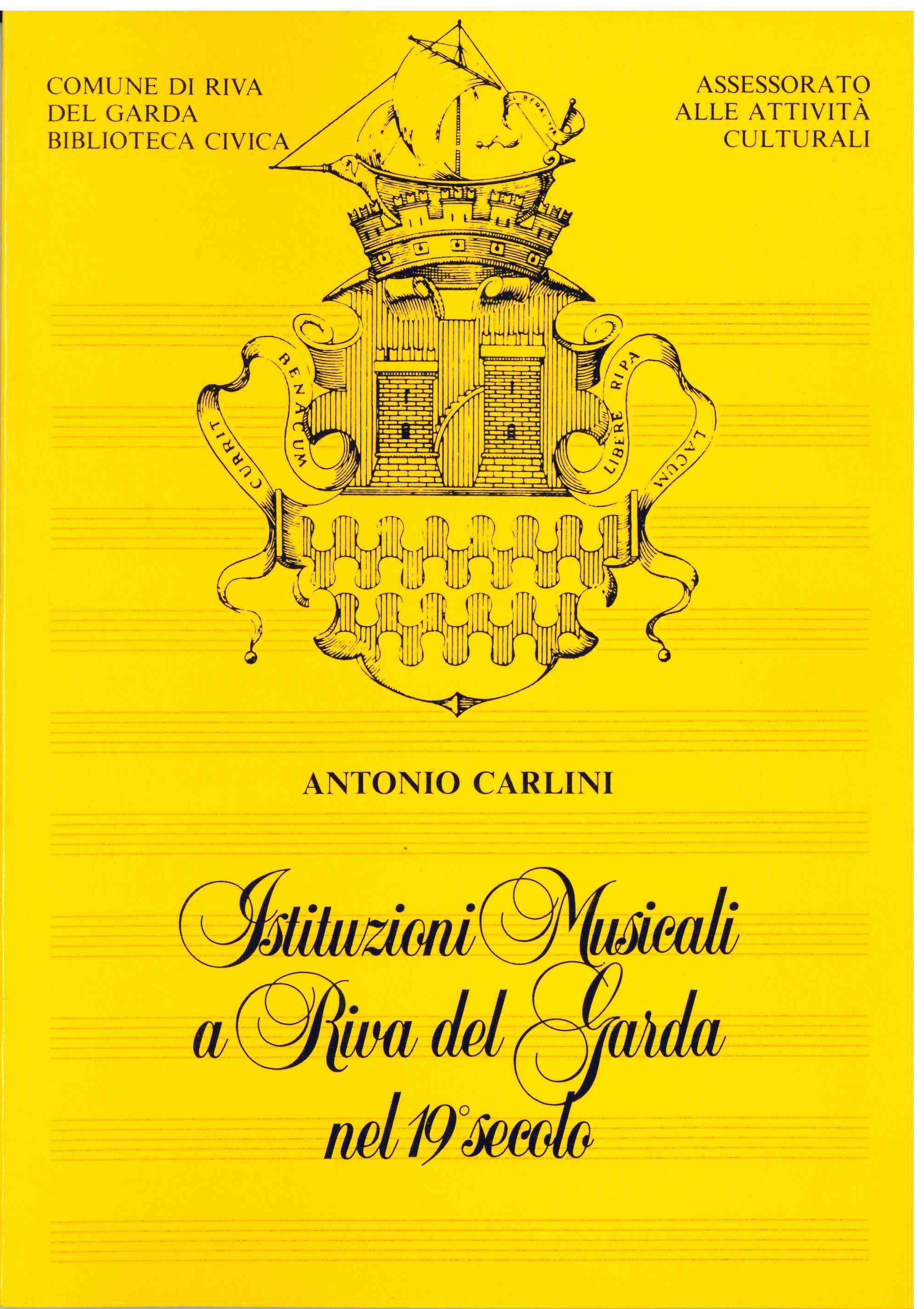 Istituzioni musicali a Riva del Garda nel 19° secolo