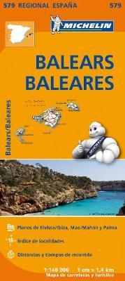 Carta stradale. Spagna/Baleari
