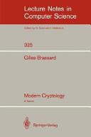 Modern Cryptology