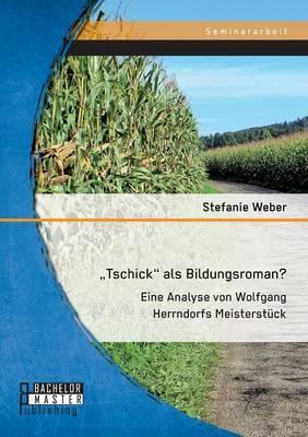 Tschick als Bildungsroman? Eine Analyse von Wolfgang Herrndorfs Meisterstück