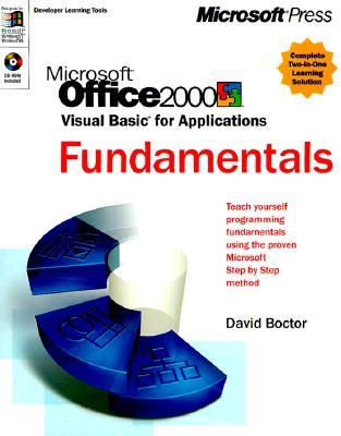 Microsoft Office 2000 Visual Basic for Applications Fundamentals